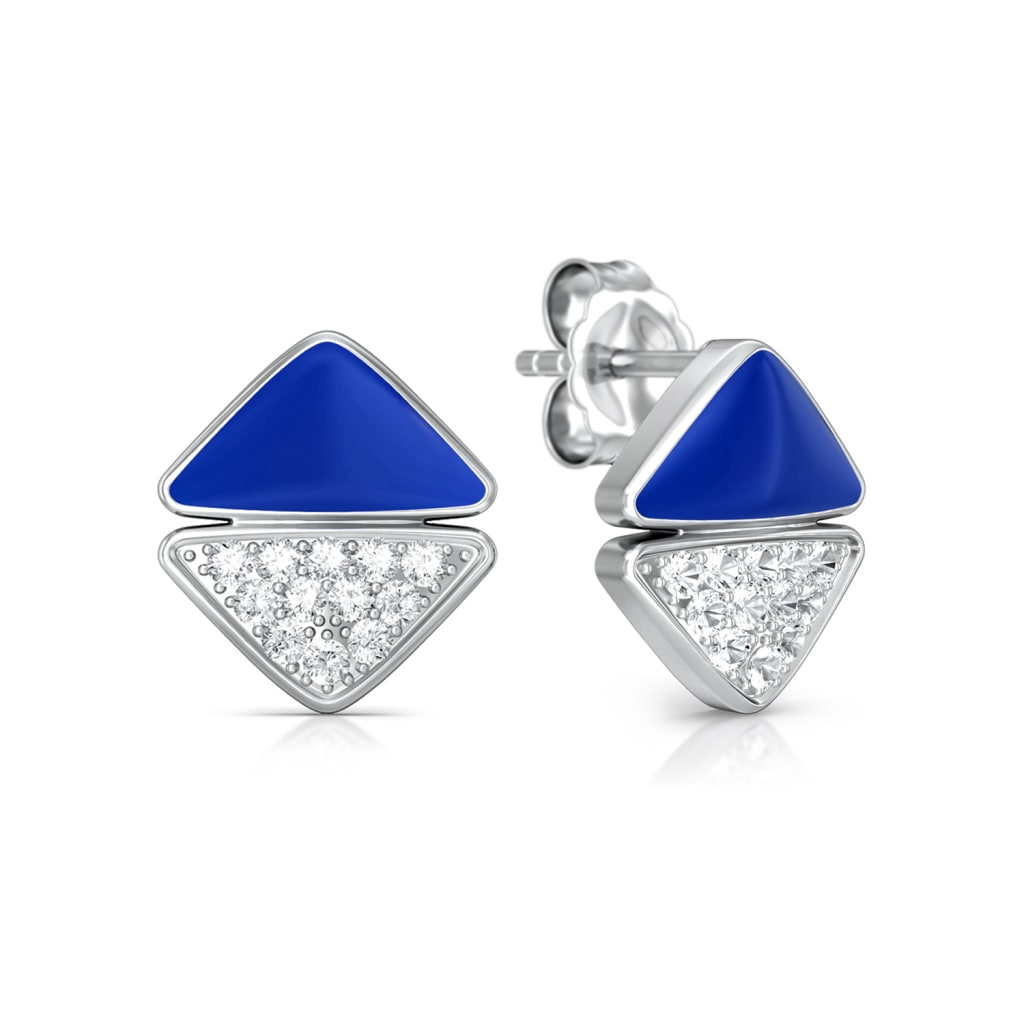 Four-Pocketer Diamond Earrings