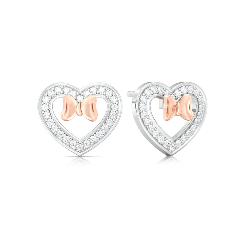 Plush-Blush Diamond Earrings