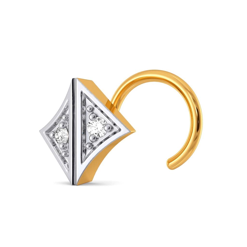 Tartan Talk Diamond Nose Pins