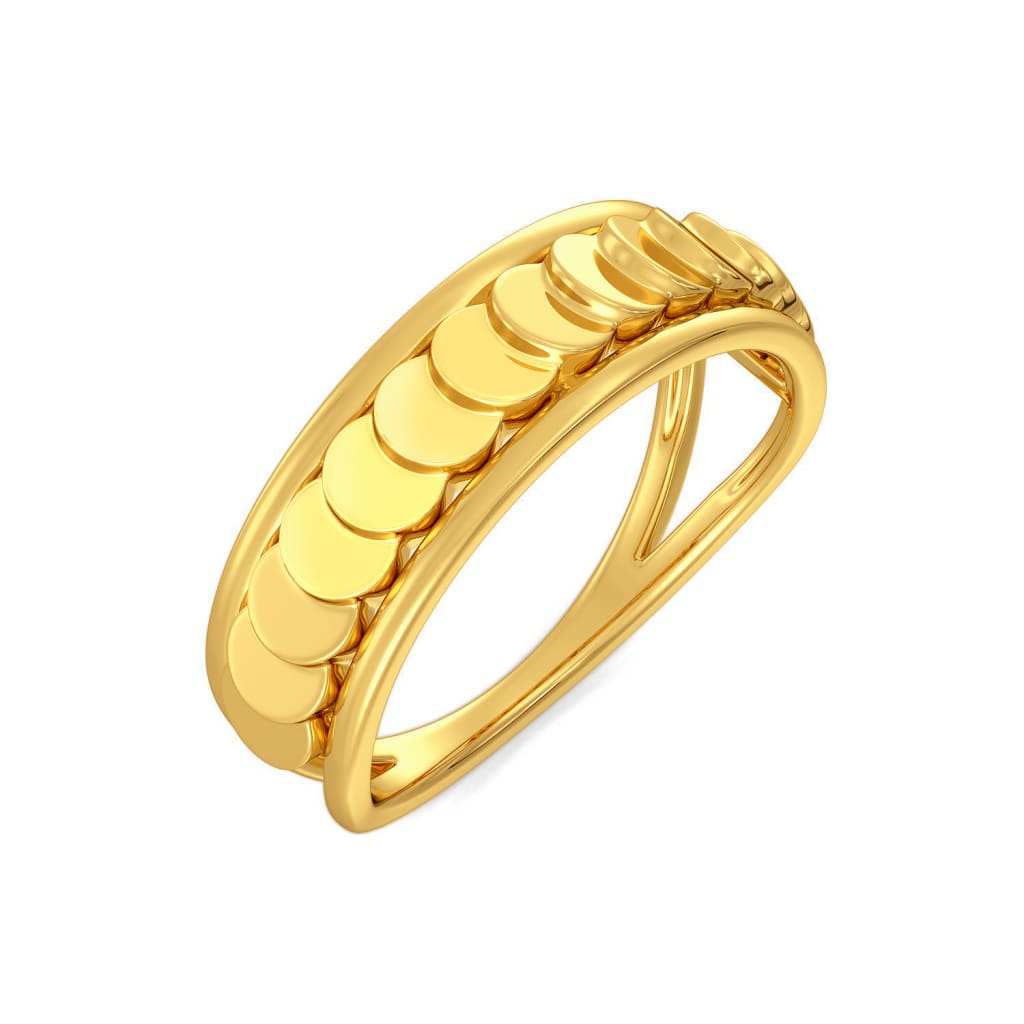 Sparkle Startle Gold Rings