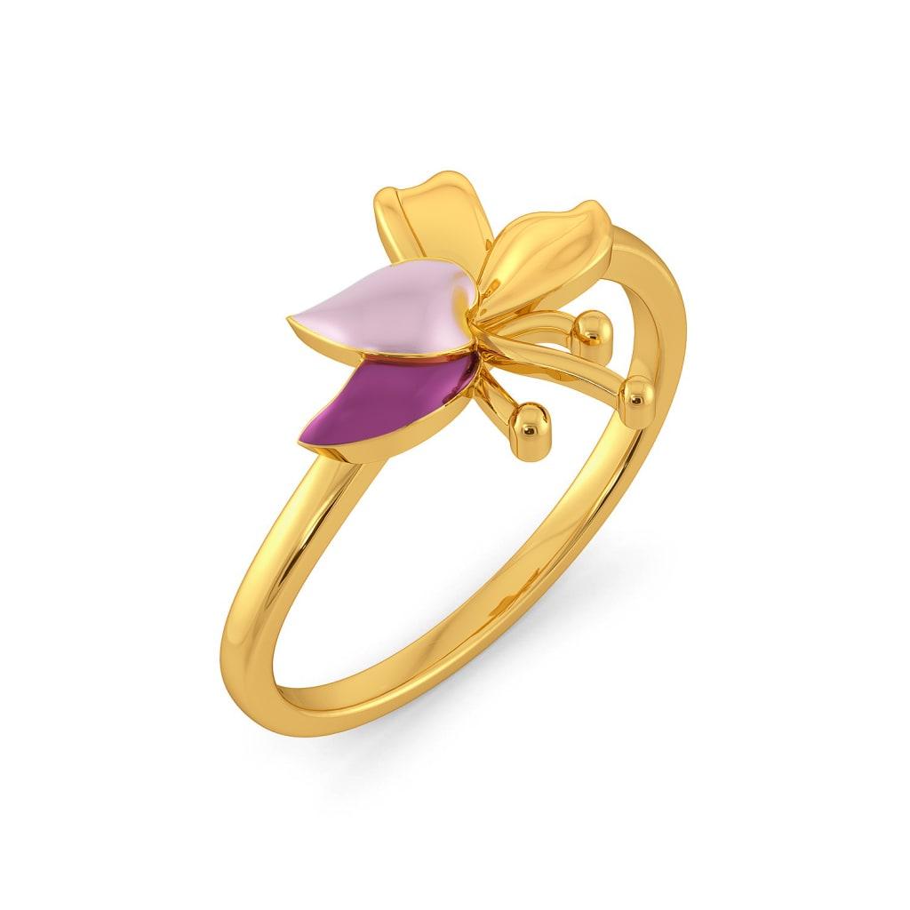 Lei Floret Gold Rings