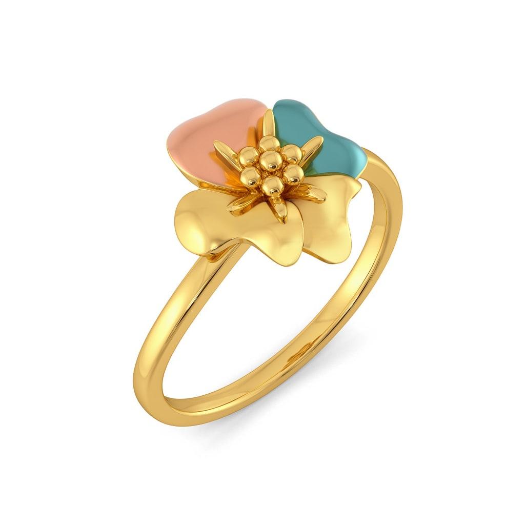 Chaplet Gold Rings