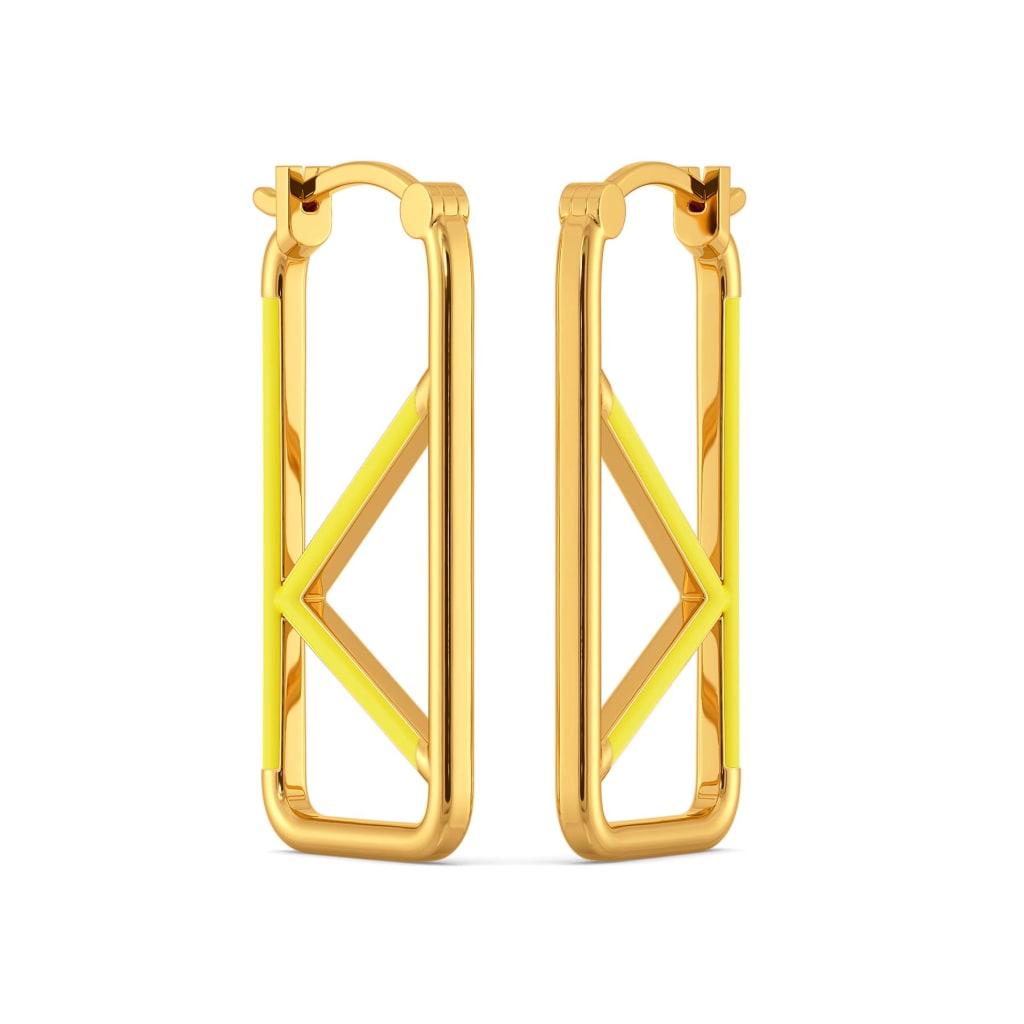 Knot A Lot Gold Earrings