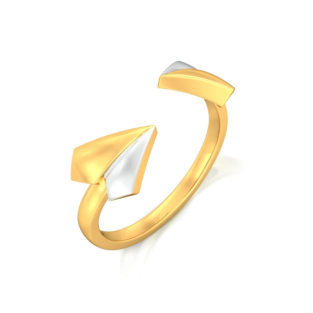 Ellectric Gold Rings