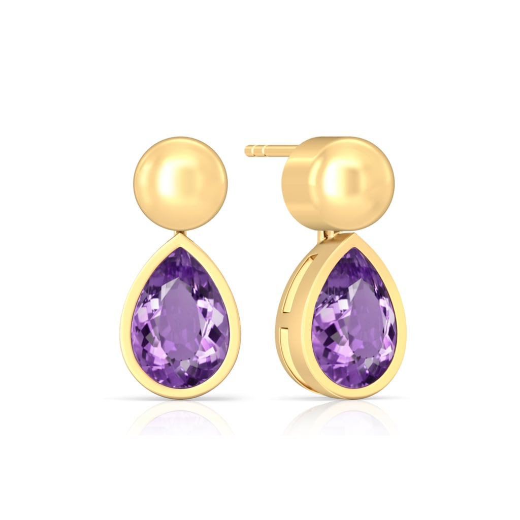 Purple Haze Gemstone Earrings