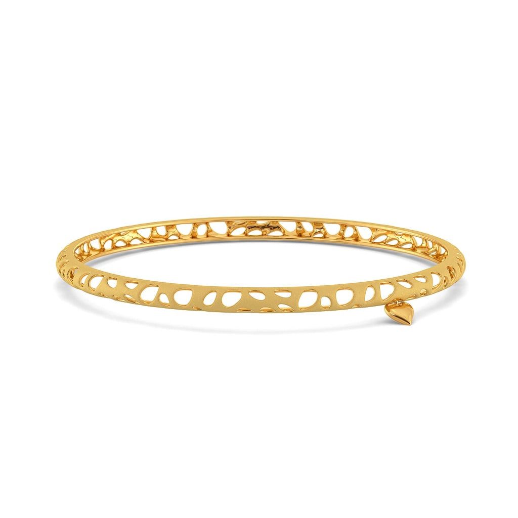 The Wild Side Gold Bangles