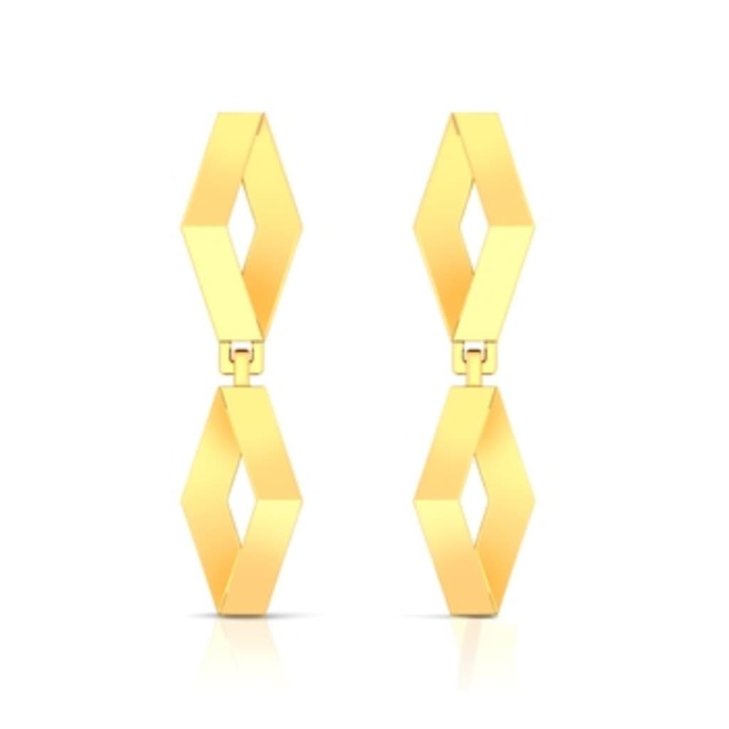 Pretty Precious Gold Earrings