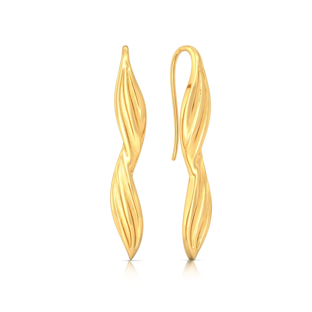 Glow Belle Gold Earrings