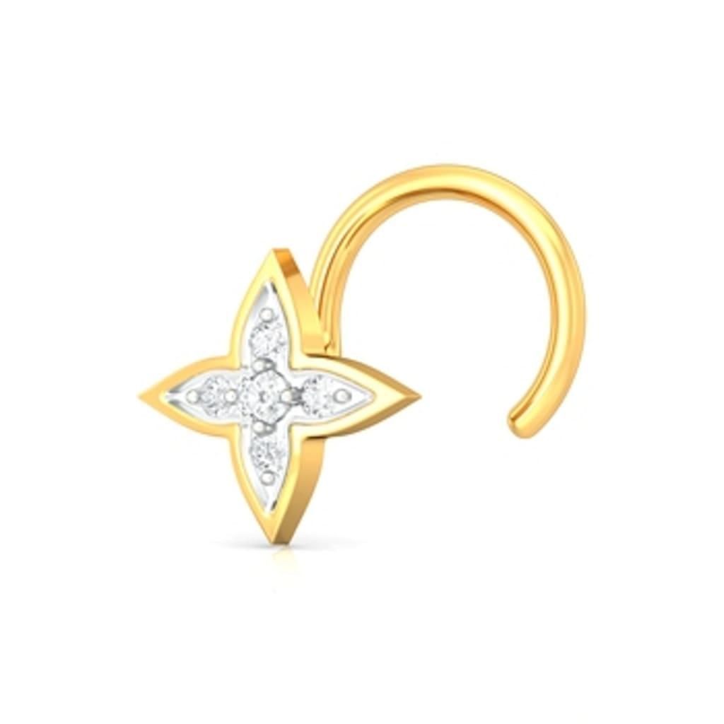 Lucky Star Diamond Nose Pins