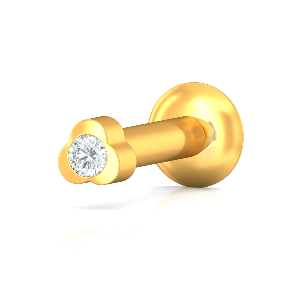 Flowergirl Diamond Nose Pins