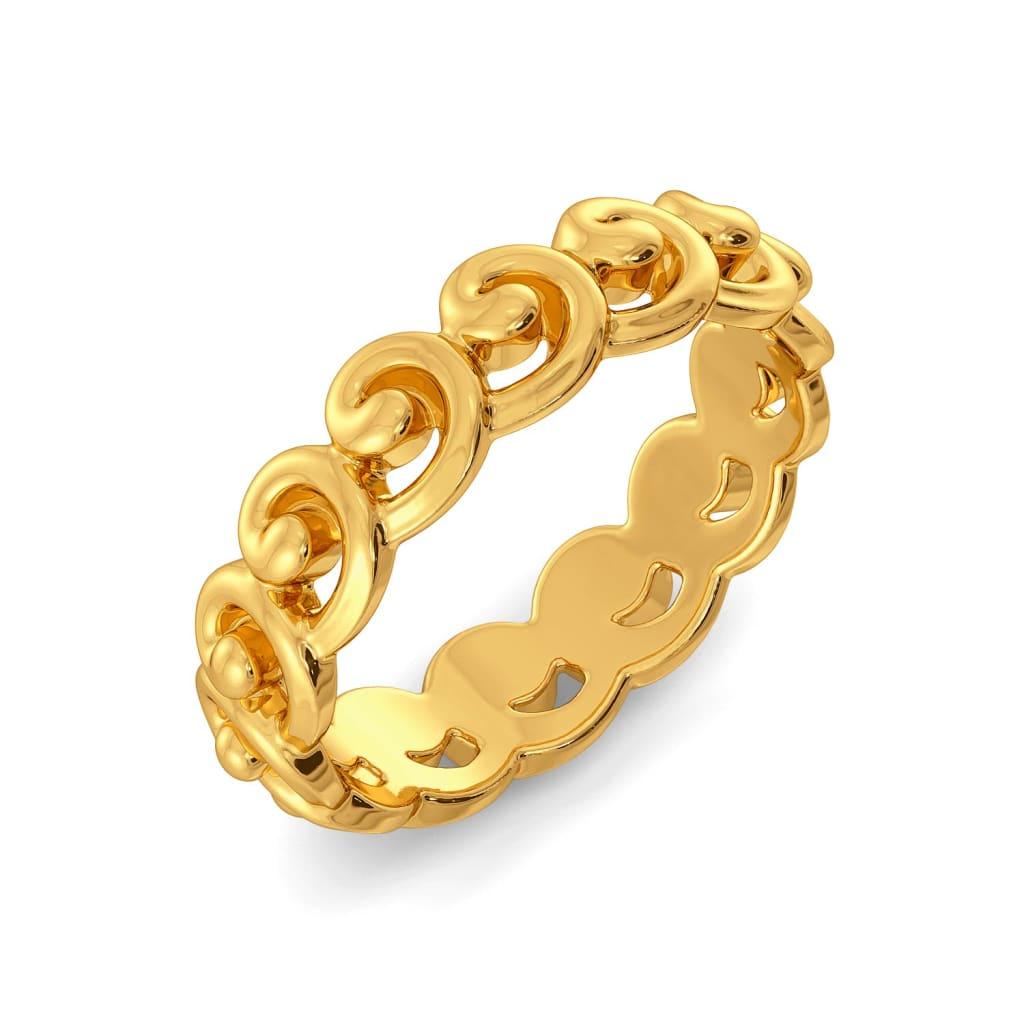 Hooks N Nooks Gold Rings