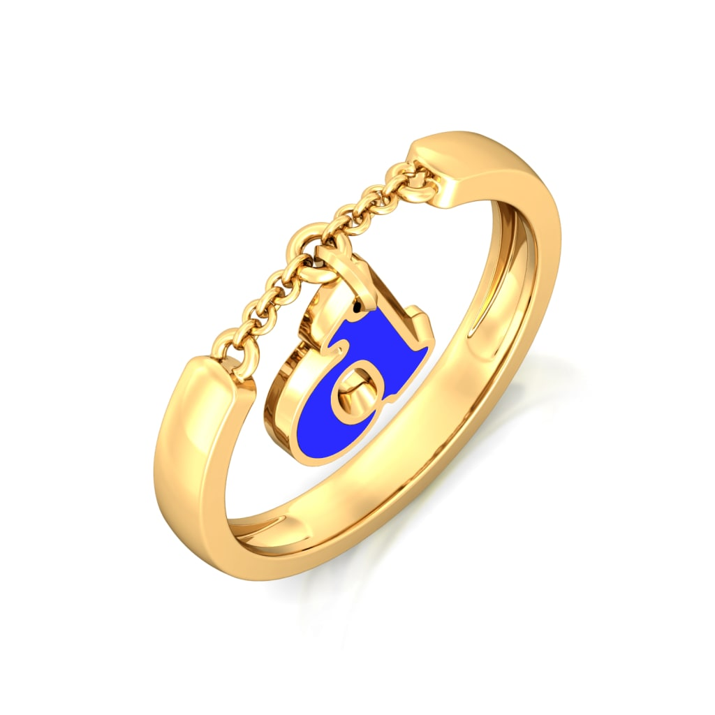 Drama queen Gold Rings