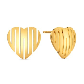 Posh Passion Gold Earrings