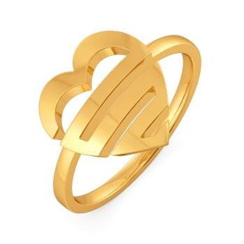 Love O Drama Gold Rings