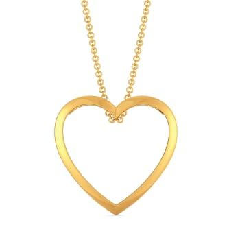 Glam Romance Gold Pendants