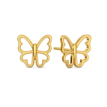 Dream Framer  Gold Earrings