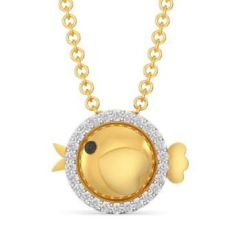 Chick Trick Diamond Pendants