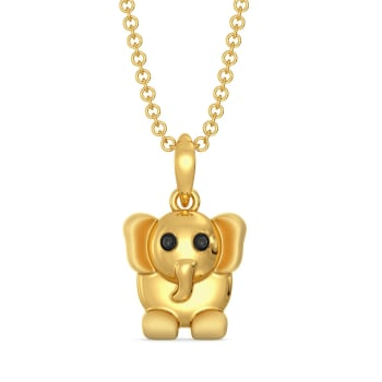 The Trunk Show Gold Pendants