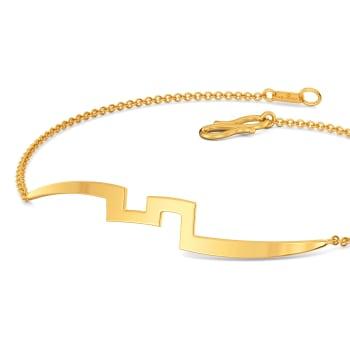 Curly Twirly Gold Bracelets