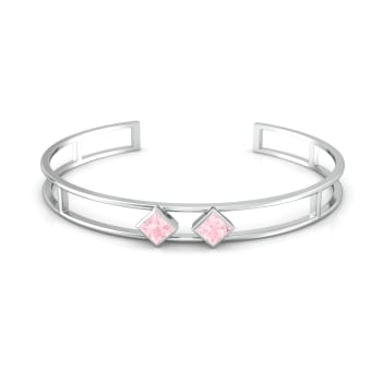 Pink Candy Gemstone Bangles