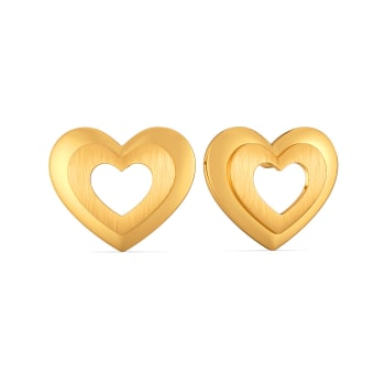 Mon Amour Gold Earrings