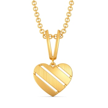 Amour Minimal Gold Pendants