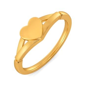 Pont des Arts Gold Rings