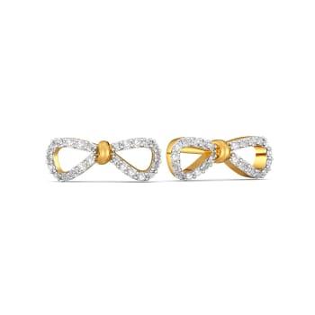 Goofy Loops Diamond Earrings