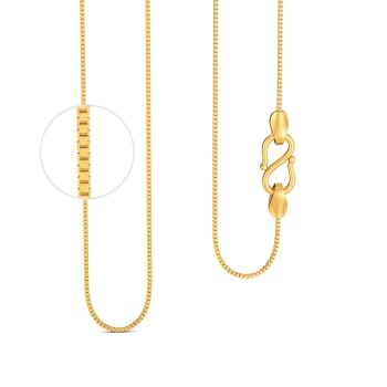 22kt Box chain Gold Chains
