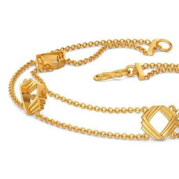 Hip Suiting Gold Bracelets