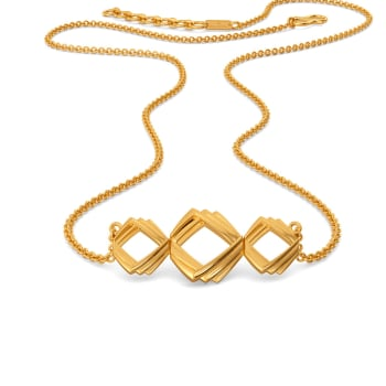 Dress Suit Gold Necklaces