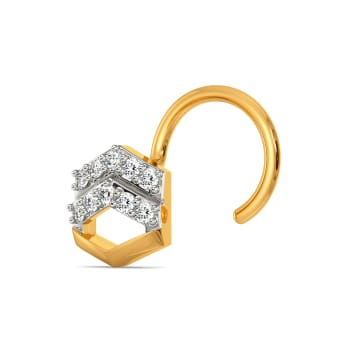 Suit N Bling Diamond Nose Pins