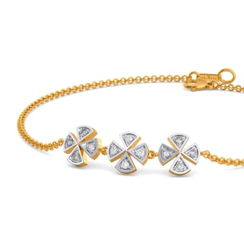 Check Remix Diamond Bracelets