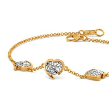 Checkered Love Diamond Bracelets
