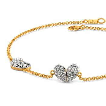 A Tartan Romance Diamond Bracelets