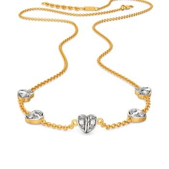 Gingham Desires Diamond Necklaces