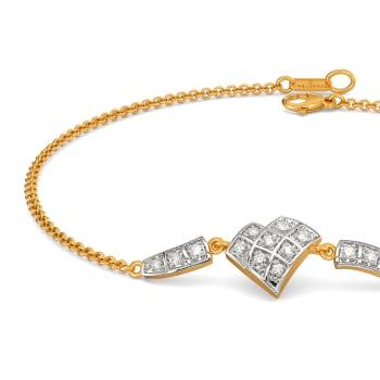 Check Together Diamond Bracelets