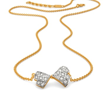 Check Together Diamond Necklaces