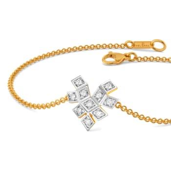 Gingham Care Diamond Bracelets