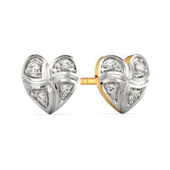 Check Day Out Diamond Earrings