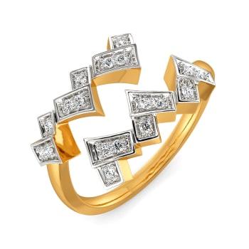 A Plaid Story Diamond Rings