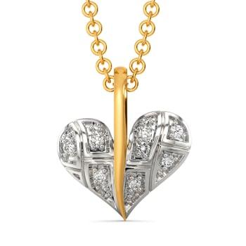 Playful Checks Diamond Pendants
