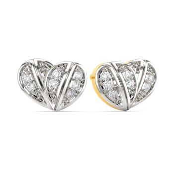 Heart Hitherto Diamond Earrings