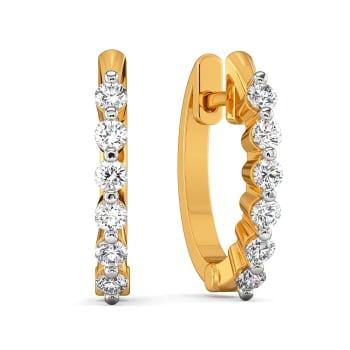 Minimally Yours Diamond Earrings
