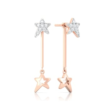 Summer Stars Diamond Earrings
