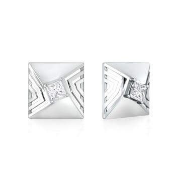 Quad Squad Diamond Earrings