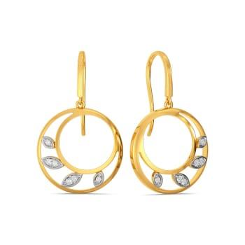 Grecian Glam Diamond Earrings