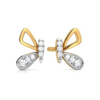 Utter Flutter Diamond Earrings