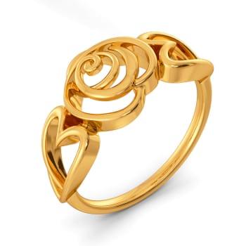 Fierce Romance Gold Rings