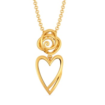 Fierce Romance Gold Pendants